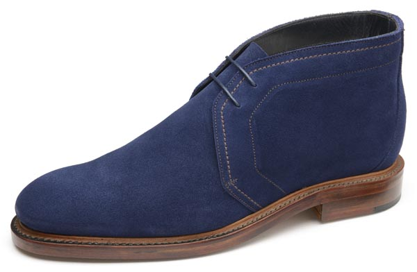 1880 LAWRENCE NAVY SUEDE
